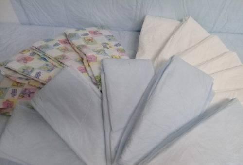 Одноразовые пеленки с производства