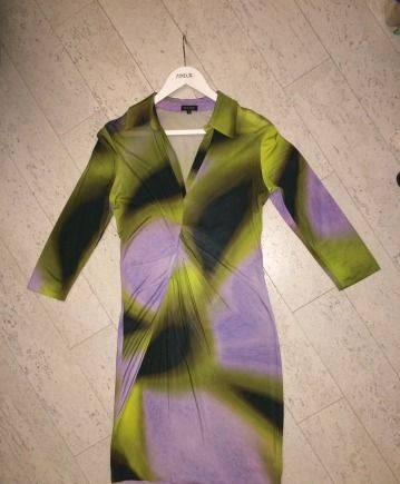 Дешевый трикотаж оптом от производителя россия, платье Escada Оригинал