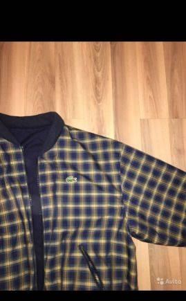 Марки одежды финляндии, бомбер Lacoste