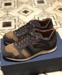 Новые кроссовки Alberto Guardiani Италия 40-41разм, мужские кеды дешево, Санкт-Петербург