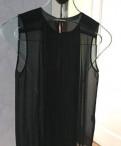 Блузка zara и рубашка, платья бархатные черное