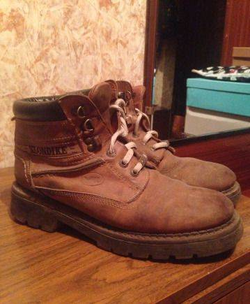 Ботинки зимние klondike, кроссовки мужские salomon snowcross