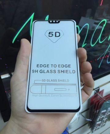 Полноразмерное 5d стекло huawei honor 8x black