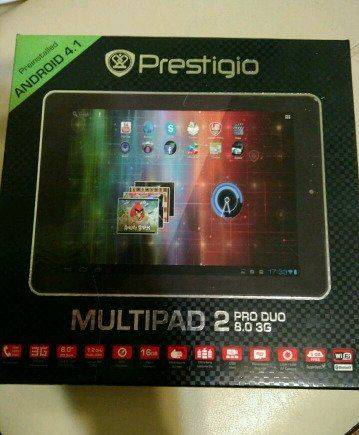 Prestigio Multipad 2pro duo 8.0 3G