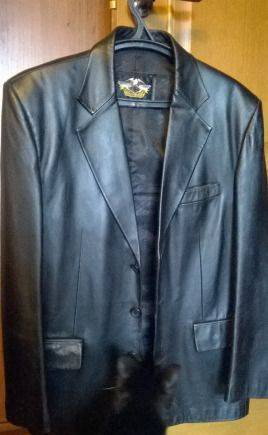 Куртка кожаная, плащ мужской gant
