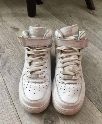 Женские ботинки на шнуровке и каблуке, кроссовки Nike