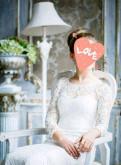 Гипюровое свадебное платье в пол, платья twin польша каталог, Санкт-Петербург