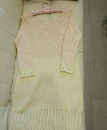 Красивое вязаное платье, магазины одежды в ocean plaza