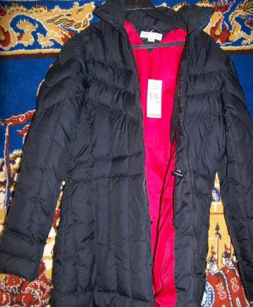 Бархатное вечернее платье с ремнем, tommy Hilfiger новое утепленное пальто