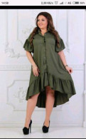 Короткое платье рубашка, продам платье 52 р, Санкт-Петербург