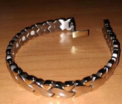 Титановый магнитный браслет Nikken Triphase