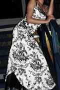 Платья с яркими принтами, вечернее платье Париж