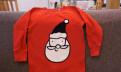 Новогодний костюм футболка 1, 5-2 года Next