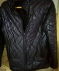 Куртка демисезонная. Материал под кожу, мужские футболки из турции оптом, Новая Ладога