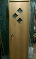 Дверь межкомнатная мдф б/у (в сборе), Павловск