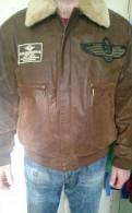 Мужские куртки акции, кожаная куртка Pilot, Санкт-Петербург