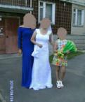 Продам свадебное платье, классическое черное платье по колено, Гатчина