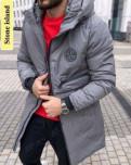 Парка куртка, мужской пуховик colins