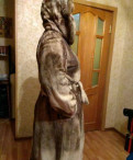 Шуба, норка стриженая. Размер 48. торг уместен, платья с красным кружевом, Сертолово