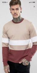 Мужское белье больших размеров недорого купить в интернет магазине, лонгслив Hoxton denim, Гарболово