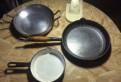 Сковороды и большая кастрюля