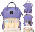 Сумка рюкзак для мамы с usb и креплениями
