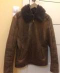 Куртка кожаная с мехом, мужские свитшоты новый год, Пикалево