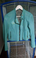 Кожаная куртка, платье zarina бархат запах, Гатчина