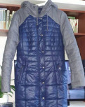 Джинсовые куртки с мехом песца купить, пальто Hoops, Санкт-Петербург