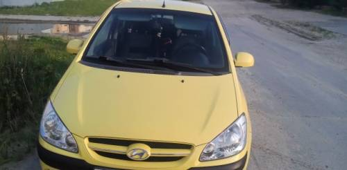 Hyundai Getz, 2005, цена на авто опель мокка