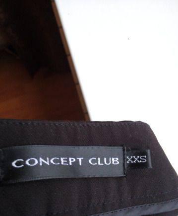 Чёрные брюки xxs, платье инсити синее