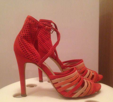 Босоножки Zara, обувь летняя распродажа