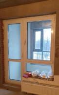 Дверь+окно (балконный блок)