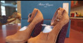 Летняя обувь на полные ноги, туфли Robert clergerie Paris