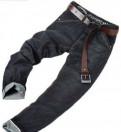 Новые брюки летние темные черные, мужская одежда из китая в наличии