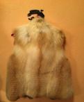 Меховая жилетка, одежда бренда пингвин, Стрельна