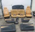 Кожаный салон сиденья в сборе Alfa Romeo 156 97-05, рулевая рейка на volkswagen polo