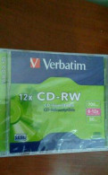 Verbatim Диск CD-RW 700Mb 8-12x Slim case10 штук