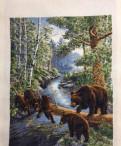 Вышивка крестом. Медвежий край