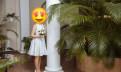 Женский пуховик с мехом чернобурки, свадебное платье