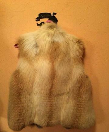 Меховая жилетка, женские зимние пальто акции