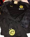 Спортивный костюм Borussia Dortmund puma, футболка с капюшоном мужская everlast