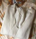 Свитер Uniqlo белый шерсть, одежда хендерсон интернет магазин