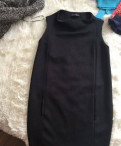 Стильные пуховики женские зима италия интернет магазин, платье чёрное Zara, Отрадное
