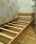 Кровать дерево + матрас, Щеглово