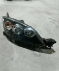 Двигатель на мазда демио, фара правая Mazda 3 bk, Песочный