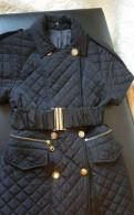 Стеганое пальто Jast Cavalli, норковые шубы графитового цвета