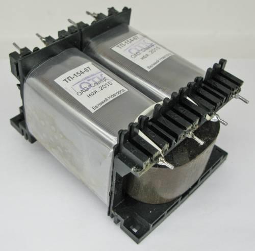 Трансформатор звуковой ТВЗ-154-(54 Вт) – любые выходные параметры в пределах мощности типоразмера,