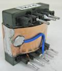 Трансформатор на феррите ТИ-7-, ТПВ-7- (100 Вт) – любые выходные параметры в пределах мощности типоразмера