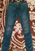Джинсы Levi's skinny 711, спортивные штаны адидас зеленые